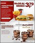 Der alte McChicken kehrt zurück im Menü für 3,79€