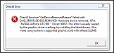 """BF3: Directx function """"GetDeviceRemovedFunction"""" failed with [..]"""