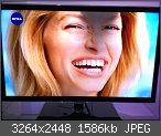 Samsung Fernseher dunkler Fleck!?