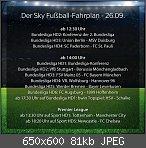 Liveübertragungen - Fussballprogramm & Fußballsendungen im TV
