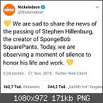 Spongebob Schwammkopf Erfinder Stephen Hillenburg verstorben