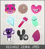 LBP Designer Sticker Pack #1