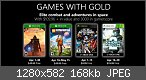 Xbox One - Games with Gold (2 kostenlose Spiele pro Monat)