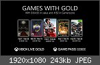Xbox One - Games with Gold (2 kostenlose Spiele pro Monat)