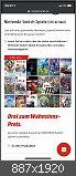 Angebote Konsole / Games / Zubehör Switch