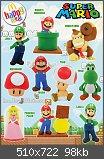 Nintendo-Figuren bei McDonalds