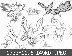 ! Eure schönsten selbstgezeichneten Pokemon-Bilder !