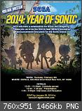 Sonic 2014 - Das Jahr des blauen Igels