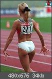 Schöne Frauen die Sport machen