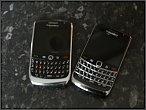 Blackberry 8900 Curve + Blackberry 9700 Bold
