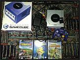 Gamecube samt Memory Stick und Spielen zu verkaufen