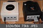 Gamecube: Verkaufe Gamecube mit Qoob Pro Modchip und einem org. Controller