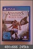 Verkaufe/Tausche Assassin's Creed IV Black Flag (PS4) + Code