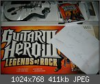 [VERKAUF] Wii Game Guitar Hero 3 Bundle (Game&Gitarre)