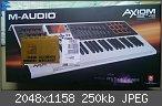 Verkaufe M-Audio Axiom Air 49 Midi-Keyboard & Pad-Controller NEU
