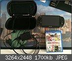 Verkaufe PS Vita WiFi inkl. Speicherkarte, Hülle, Spiel