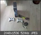 Verkaufe/Tausche Xbox 360 mit Flash und Zubehör