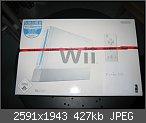 Verkaufe Nagelneue Wii Konsole (heute gekauft,Karton ungeöffnet)mit Wii Sports
