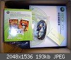 [Verkaufe] XBOX 360 60GB -neues Jasper Board- + 2 Spiele + 2 Controller - NEU + OVP