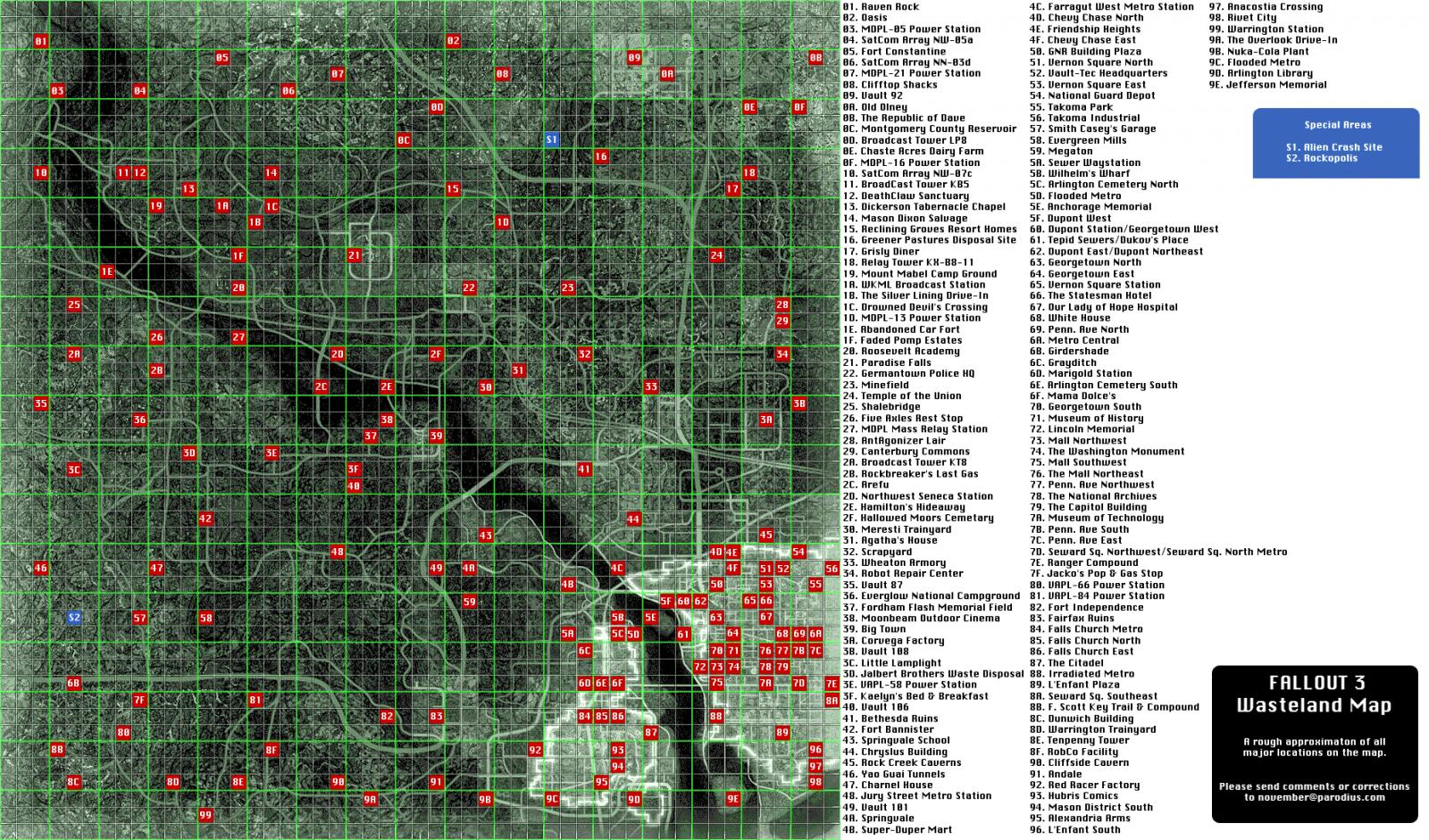 fallout 3 map locations revealed with Page31 on Evergreen Mills moreover Every Nuclear Bomb Location World MAPPED Bomb Map Nuke further Elderscrolls6 blogspot also Mapa as well 21065.